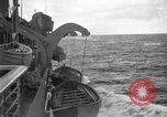 Image of convoy of ships North Atlantic Ocean, 1942, second 5 stock footage video 65675068071