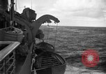 Image of convoy of ships North Atlantic Ocean, 1942, second 8 stock footage video 65675068071