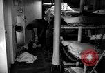 Image of Shipboard Living Conditions Pacific Ocean, 1953, second 3 stock footage video 65675068093