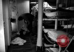 Image of Shipboard Living Conditions Pacific Ocean, 1953, second 4 stock footage video 65675068093