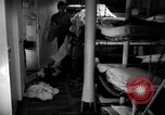 Image of Shipboard Living Conditions Pacific Ocean, 1953, second 10 stock footage video 65675068093