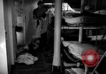 Image of Shipboard Living Conditions Pacific Ocean, 1953, second 11 stock footage video 65675068093