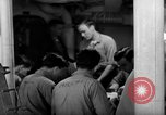 Image of Shipboard Living Conditions Pacific Ocean, 1953, second 5 stock footage video 65675068094