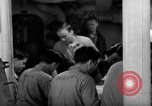 Image of Shipboard Living Conditions Pacific Ocean, 1953, second 8 stock footage video 65675068094
