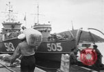Image of Korean sailors Jinhae Korea, 1954, second 12 stock footage video 65675068103
