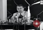 Image of Wernher Von Braun lecturing in German about space launch vehicles, inc United States USA, 1958, second 2 stock footage video 65675068106