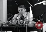 Image of Wernher Von Braun lecturing in German about space launch vehicles, inc United States USA, 1958, second 3 stock footage video 65675068106