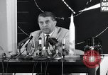 Image of Wernher Von Braun lecturing in German about space launch vehicles, inc United States USA, 1958, second 4 stock footage video 65675068106