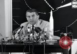 Image of Wernher Von Braun lecturing in German about space launch vehicles, inc United States USA, 1958, second 5 stock footage video 65675068106