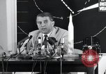 Image of Wernher Von Braun lecturing in German about space launch vehicles, inc United States USA, 1958, second 8 stock footage video 65675068106