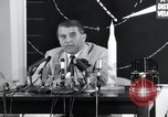 Image of Wernher Von Braun lecturing in German about space launch vehicles, inc United States USA, 1958, second 9 stock footage video 65675068106