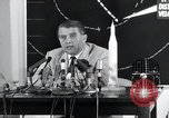 Image of Wernher Von Braun lecturing in German about space launch vehicles, inc United States USA, 1958, second 11 stock footage video 65675068106