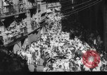 Image of Running of the Bulls Pamplona Spain, 1960, second 8 stock footage video 65675068125