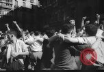 Image of Running of the Bulls Pamplona Spain, 1960, second 10 stock footage video 65675068125