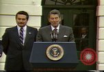 Image of Ronald Wilson Reagan Washington DC USA, 1984, second 8 stock footage video 65675068148