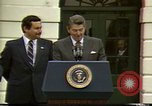Image of Ronald Wilson Reagan Washington DC USA, 1984, second 9 stock footage video 65675068148