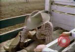 Image of Bull riding United States USA, 1984, second 7 stock footage video 65675068151