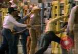Image of Bull riding United States USA, 1984, second 8 stock footage video 65675068151