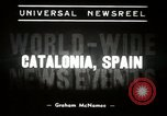 Image of Spanish civil war in Catalonia Catalonia Spain, 1939, second 6 stock footage video 65675068172