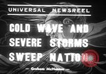 Image of Cold waves and blizzards United States USA, 1939, second 8 stock footage video 65675068175