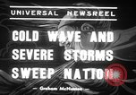 Image of Cold waves and blizzards United States USA, 1939, second 11 stock footage video 65675068175