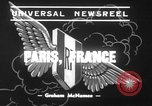 Image of mock air raid Paris France, 1939, second 3 stock footage video 65675068179