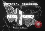 Image of mock air raid Paris France, 1939, second 5 stock footage video 65675068179