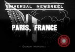 Image of mock air raid Paris France, 1939, second 6 stock footage video 65675068179