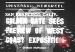 Image of Golden Gate International Exposition San Francisco Bay California USA, 1939, second 1 stock footage video 65675068183