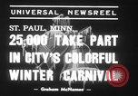 Image of Carnival festival Saint Paul Minnesota USA, 1939, second 6 stock footage video 65675068184