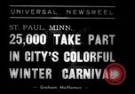 Image of Carnival festival Saint Paul Minnesota USA, 1939, second 7 stock footage video 65675068184