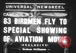 Image of Piper cub aircraft Camden New Jersey USA, 1939, second 2 stock footage video 65675068187