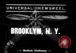 Image of Grumman amphibious aircraft Brooklyn New York City USA, 1939, second 1 stock footage video 65675068191