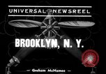 Image of Grumman amphibious aircraft Brooklyn New York City USA, 1939, second 5 stock footage video 65675068191