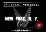 Image of New York City subway train New York City USA, 1939, second 2 stock footage video 65675068192