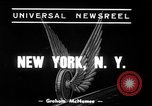 Image of New York City subway train New York City USA, 1939, second 3 stock footage video 65675068192