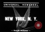 Image of New York City subway train New York City USA, 1939, second 4 stock footage video 65675068192