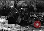 Image of Wrecked equipment Havrenne Belgium, 1944, second 12 stock footage video 65675068195
