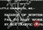 Image of Sea Traffic Cops Little Diamond Island Maine USA, 1932, second 1 stock footage video 65675068202