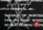Image of Sea Traffic Cops Little Diamond Island Maine USA, 1932, second 3 stock footage video 65675068202