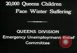 Image of Great Depression in Queens New York Queens New York City USA, 1932, second 2 stock footage video 65675068204