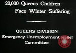 Image of Great Depression in Queens New York Queens New York City USA, 1932, second 3 stock footage video 65675068204