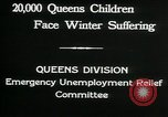 Image of Great Depression in Queens New York Queens New York City USA, 1932, second 4 stock footage video 65675068204