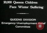 Image of Great Depression in Queens New York Queens New York City USA, 1932, second 5 stock footage video 65675068204