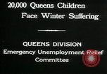 Image of Great Depression in Queens New York Queens New York City USA, 1932, second 7 stock footage video 65675068204