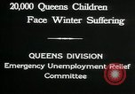 Image of Great Depression in Queens New York Queens New York City USA, 1932, second 9 stock footage video 65675068204