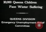 Image of Great Depression in Queens New York Queens New York City USA, 1932, second 10 stock footage video 65675068204