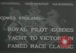 Image of Regatta Cowes England, 1932, second 1 stock footage video 65675068206