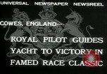 Image of Regatta Cowes England, 1932, second 4 stock footage video 65675068206