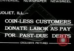 Image of new store built Joliet Illinois USA, 1932, second 1 stock footage video 65675068207